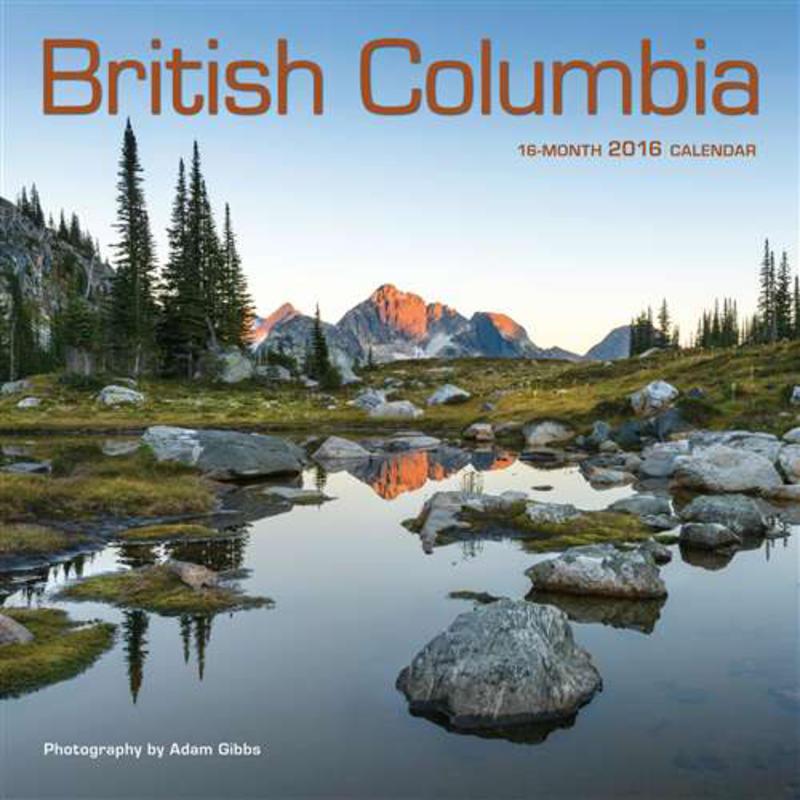 Calendrier Colombie-Britannique 2016