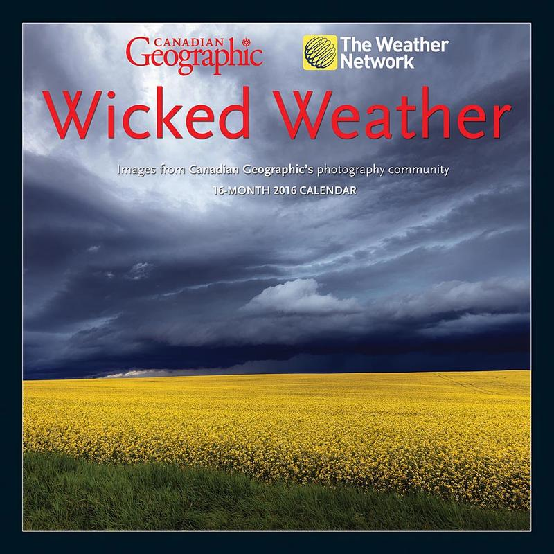Calendrier Wicked Weather 2016