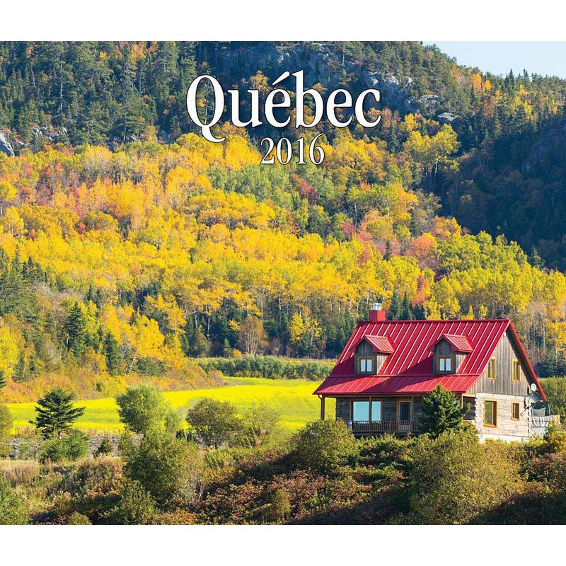 2016 Quebec Calendar