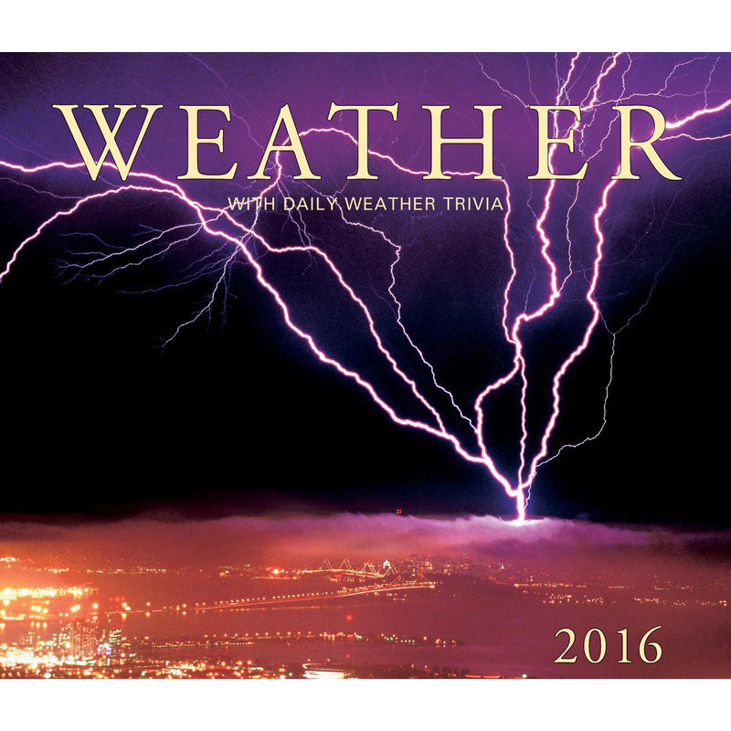 Calendrier Weather 2016