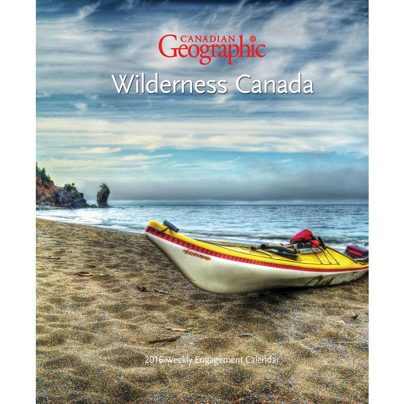 Calendrier-agenda Wilderness Canada 2016