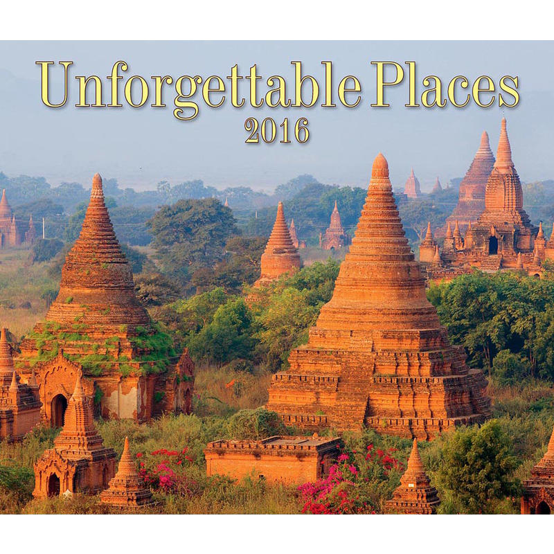 Calendrier Unforgettable Places 2016