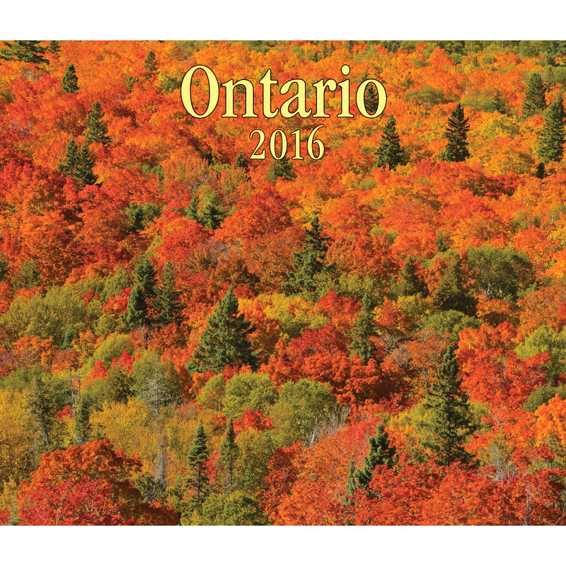 Calendrier Ontario 2016