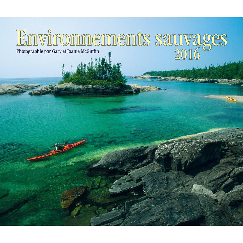 Calendrier Environnements sauvages 2016