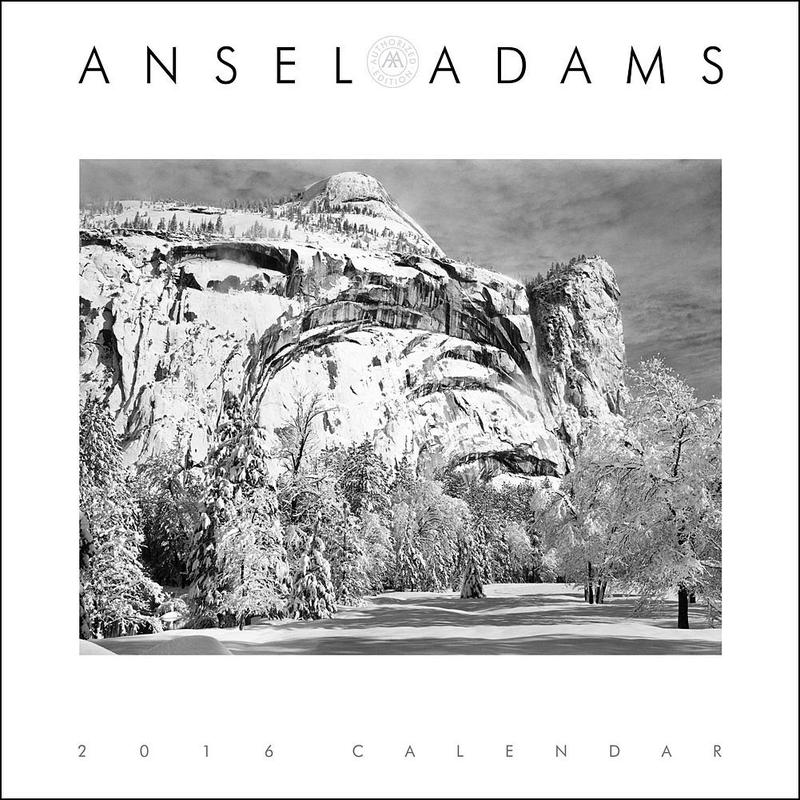 Calendrier-agenda 2016 Ansel Adams