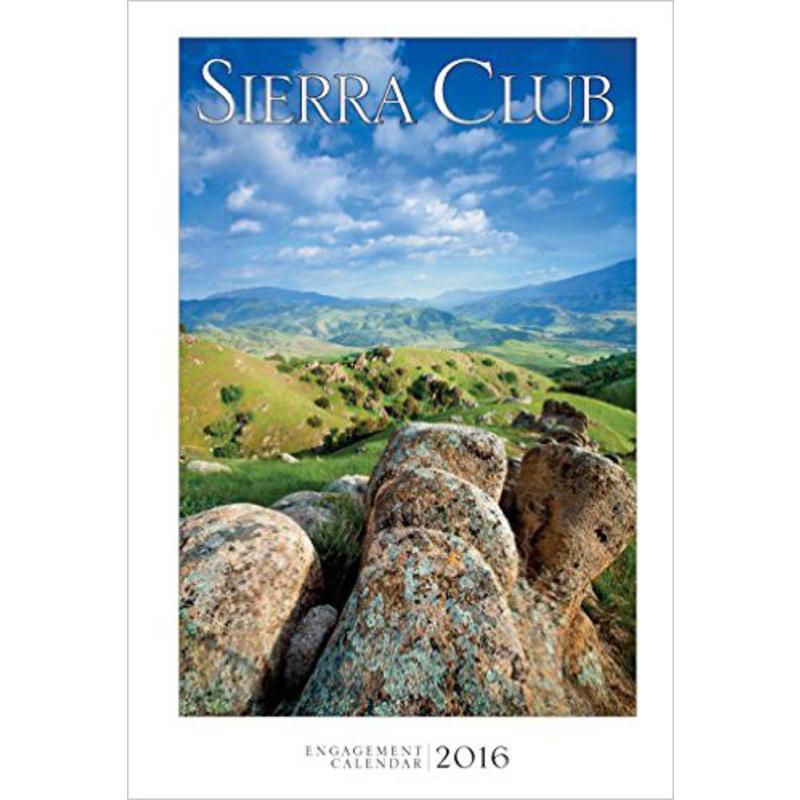 Calendrier Engagement Sierra Club 2016