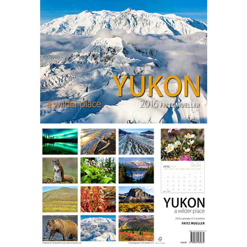 2016 Yukon Calendar