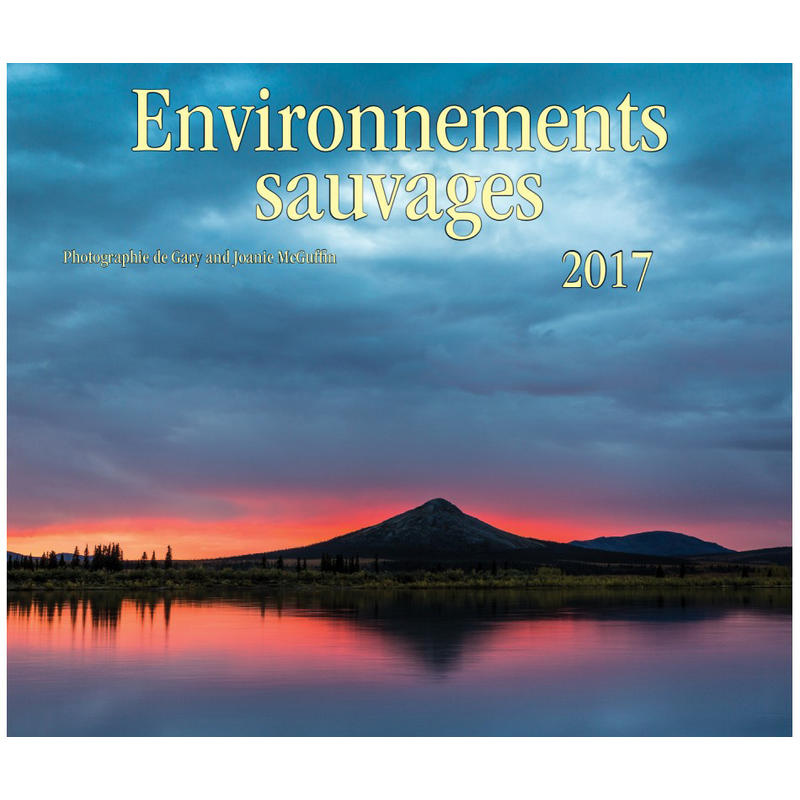 Calendrier Environnements sauvages 2017