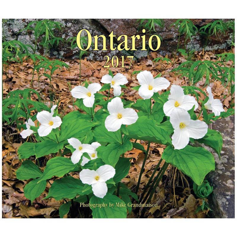 Calendrier Ontario 2017