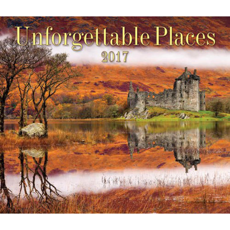 Calendrier Unforgettable Places 2017