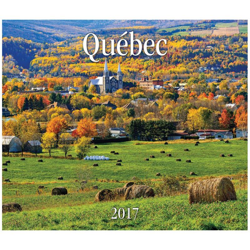 Calendrier Québec 2017