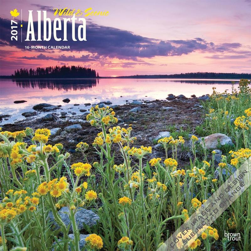 Calendrier Alberta 2017