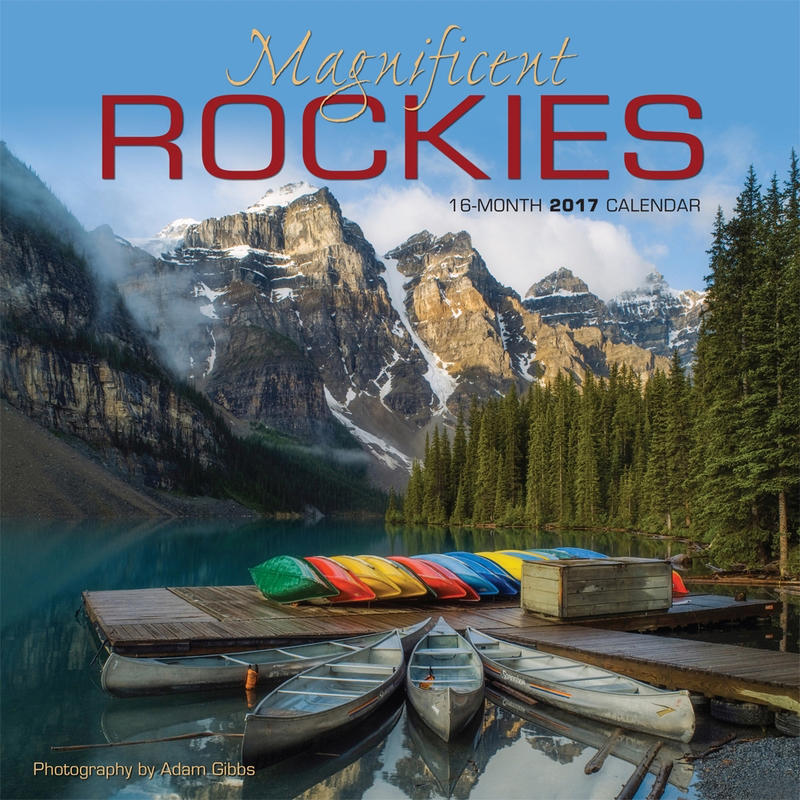 Calendrier Magnifient Rockies 2017