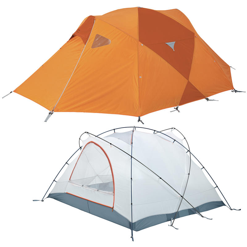 Tente Monadnock 4 Carotène/Feu
