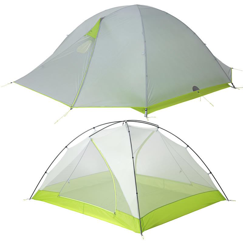 Volt A/C 3 Tent Stainless Steel/Sour Apple
