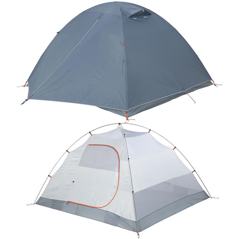 Camper 4 Tent Smoke Blue