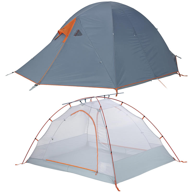 Wanderer A/C 2 Tent Smoke Blue/Carotene