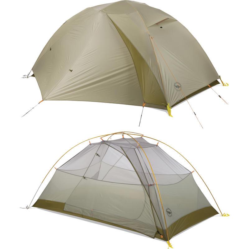 Fishhook UL 2 Tent Light Grey/Moss