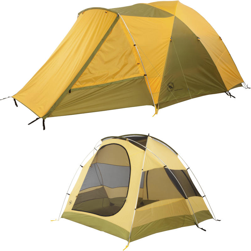 Tensleep Station 4 Tent Yellow/Moss