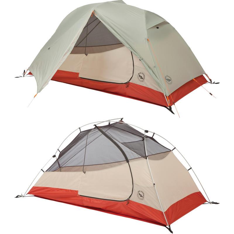 Tente Lone Spring 1 Gris/Rouge