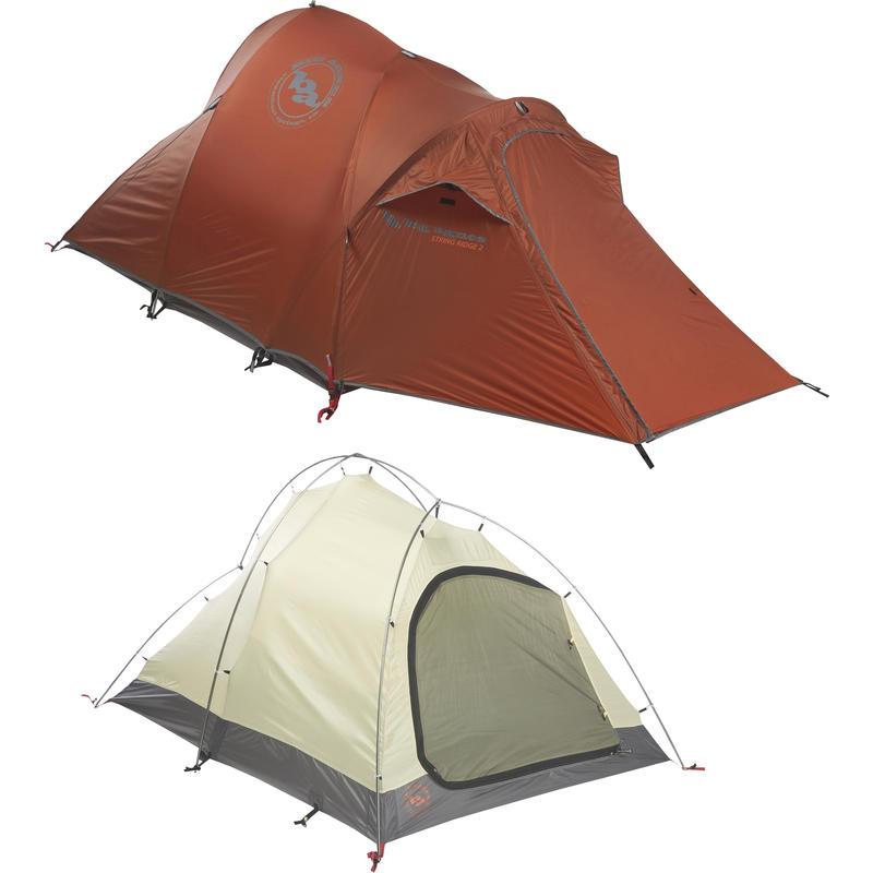 Tente String Ridge 2 Rouille/Charbon de bois