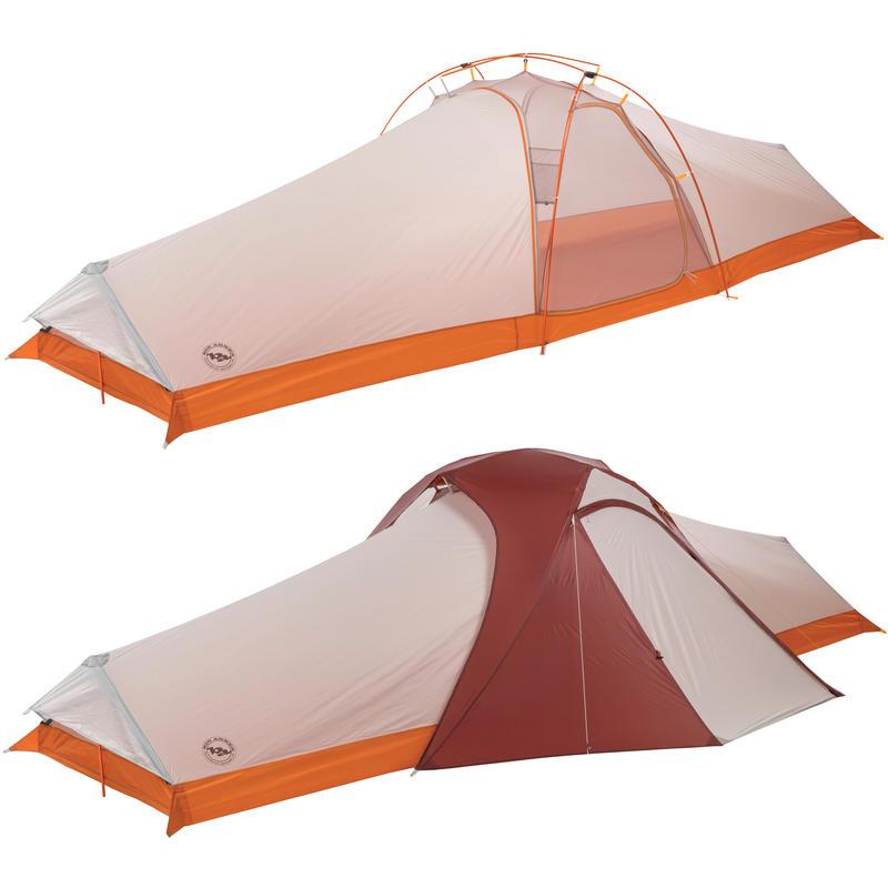 Tente Three Island UL4 Argent/Prune