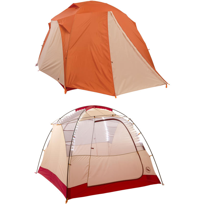 Chimney Creek 4 mtnGLO Tent Orange/Cream