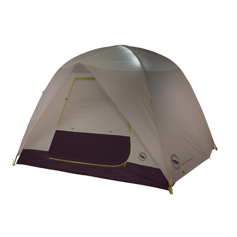 Yellow Jacket 4 mtnGLO Tent Stone/White