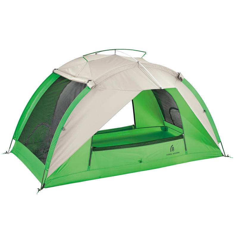 Tente Flash 2 Brun roux/Vert