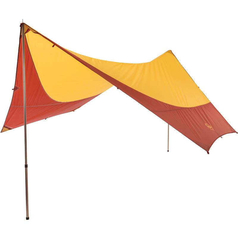 Deep Creek Tarp Yellow/Red