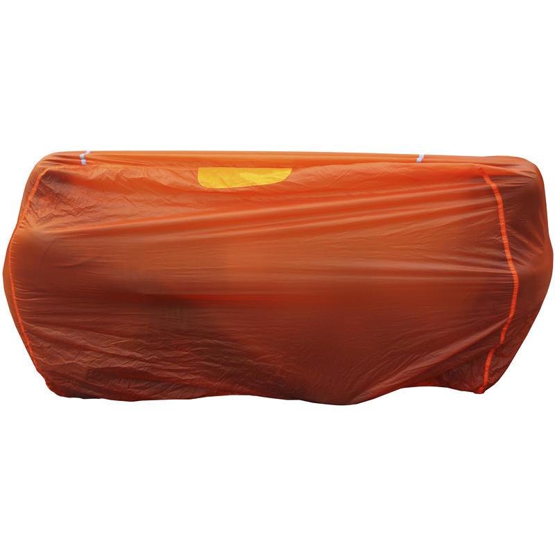 Abri Silbothy pour quatre personnes Orange