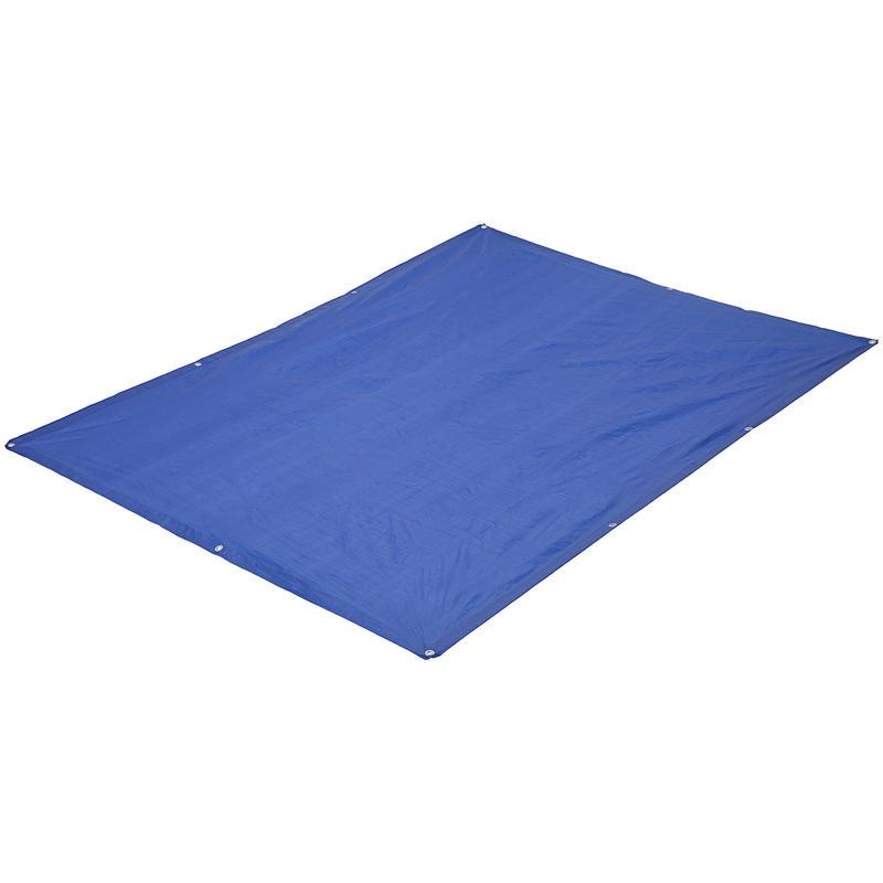 Bâche en polyéthylène 2,7 m x 3,7 m Bleu