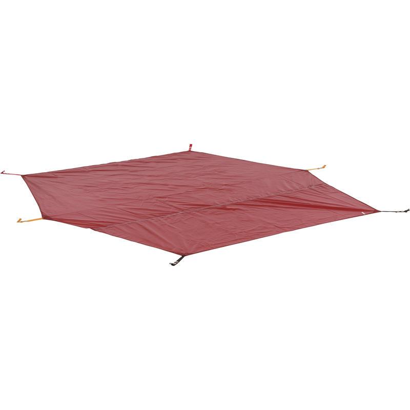 Toile de sol pour tente Battle Mountain 3 Rouge
