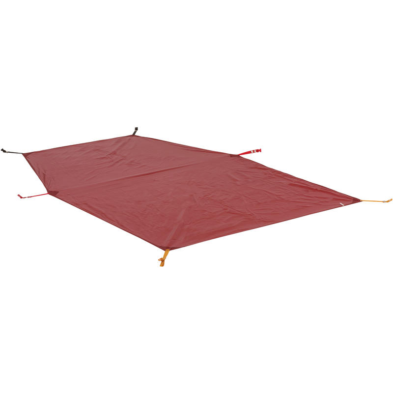 Toile de sol pour tente Battle Mountain 2 Rouge