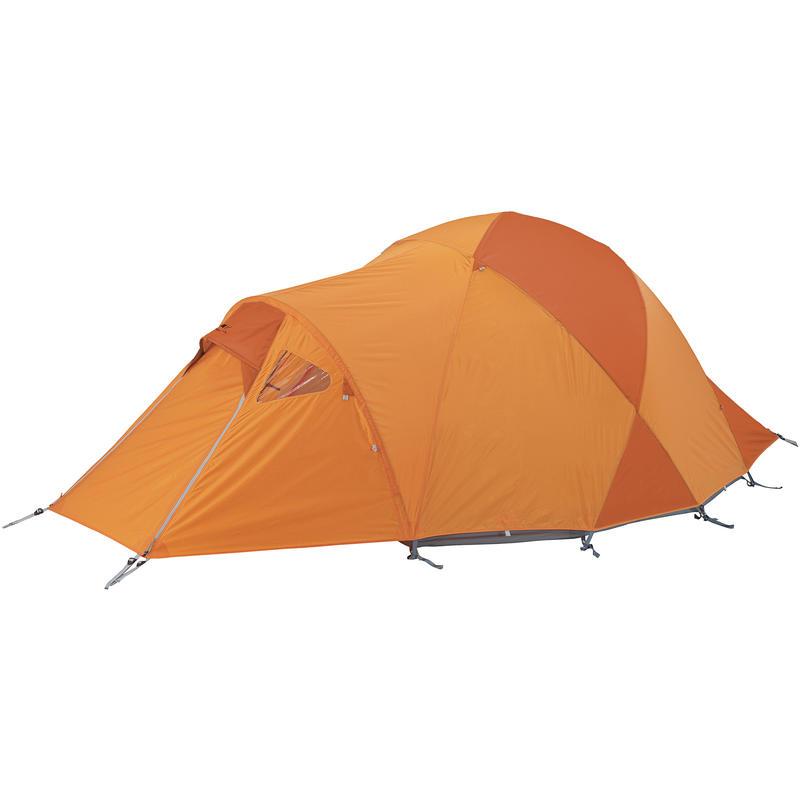 Double toit de tente avec portes North Wind 2 Carotène/Feu