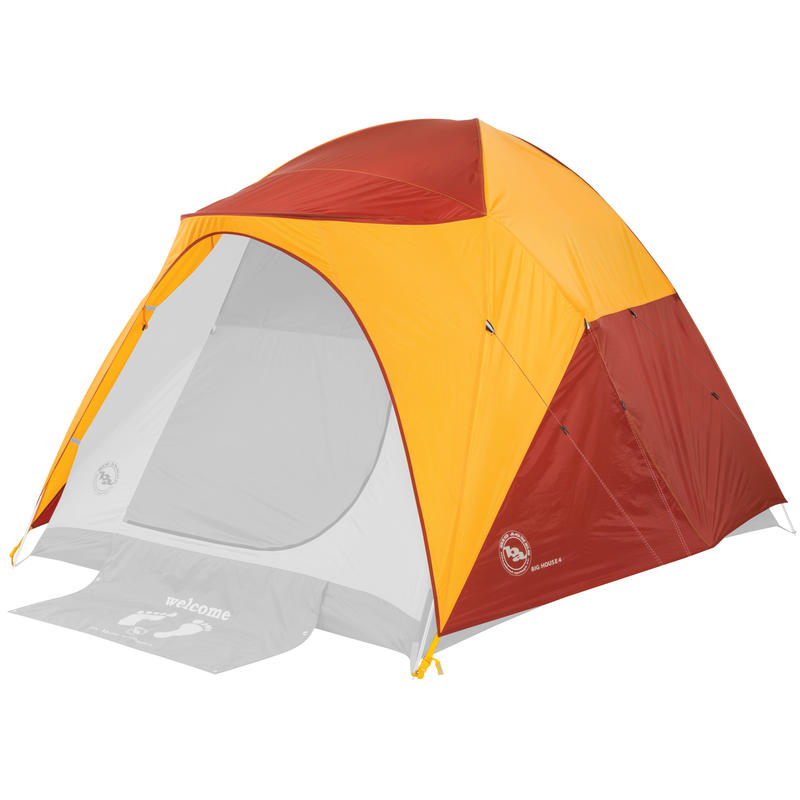 Big House 4 Tent Fly Yellow