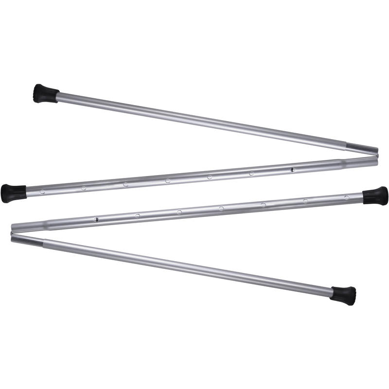 Accessory Backpacking Tarp Poles Silver