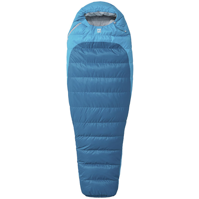 Sac de couchage Aquilina 0 °C Cyan/Bleu Égée