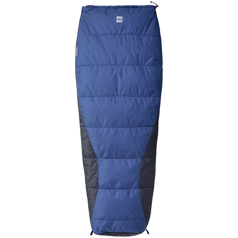 Caravan Sleeping Bag +10C Stellar Blue