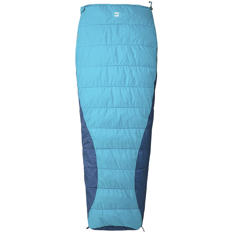 Oasis Sleeping Bag 0/+10C Cyan/Stellar Blue