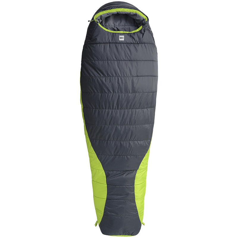 Perseus Sleeping Bag -7C Coal/Peridot