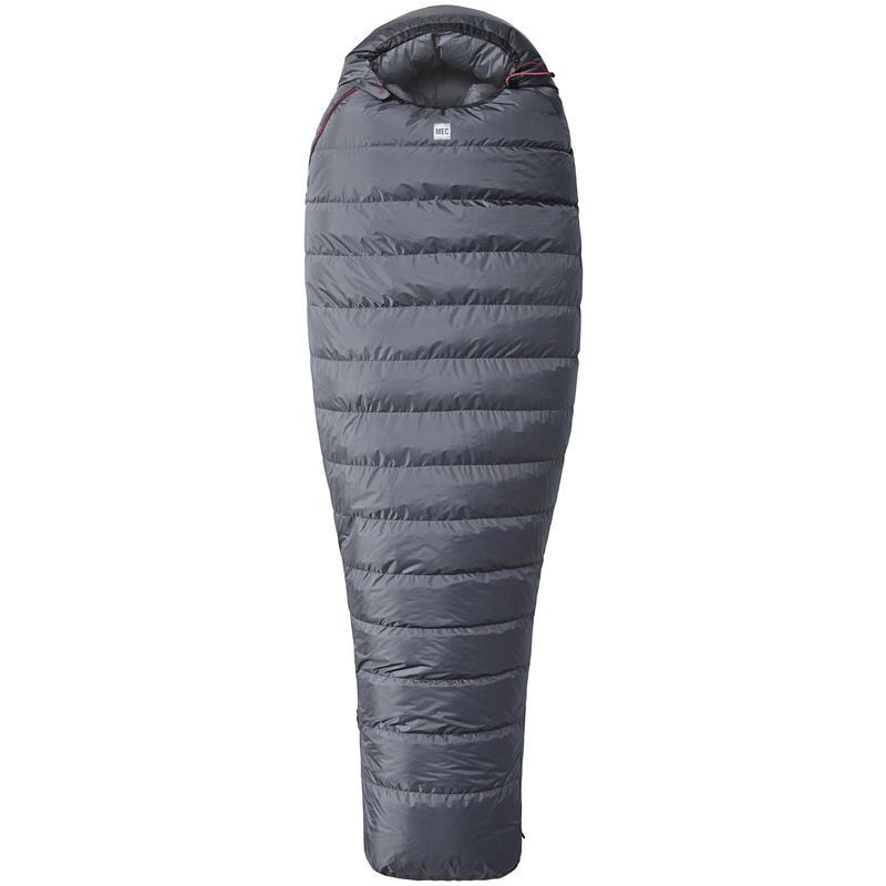 Asgaard Windstopper Sleeping Bag -20C Coal/Red