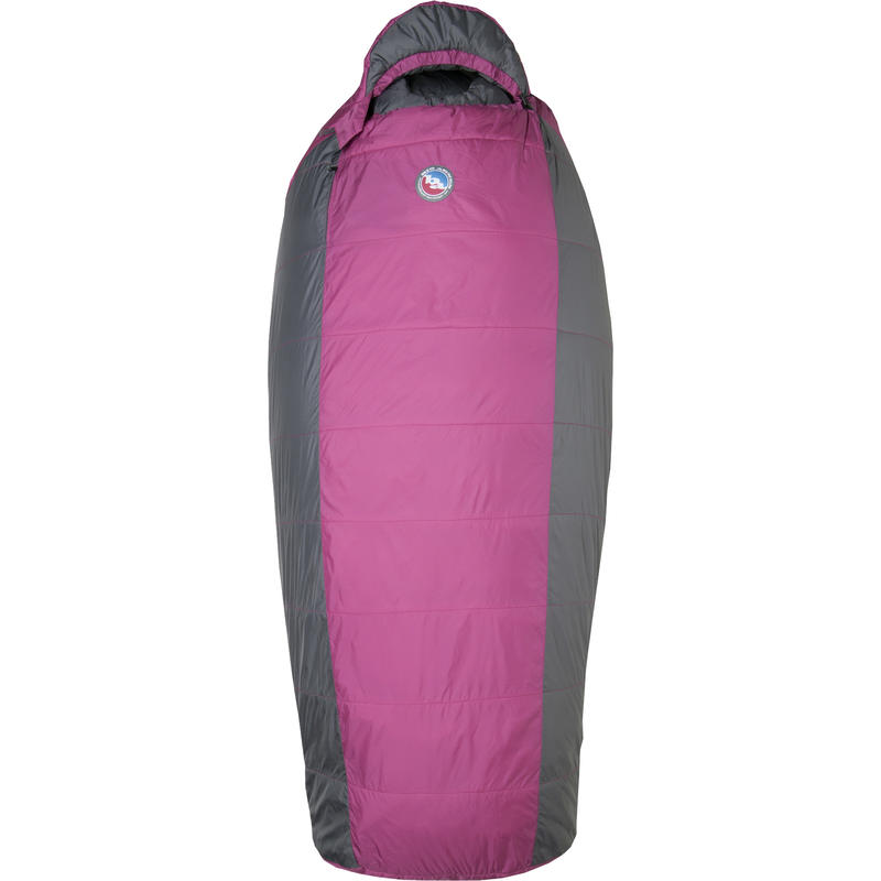 Lulu -9C System Sleeping Bag Raspberry/Gray