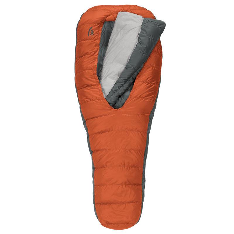 Sac de couchage Backcountry Bed 600 -3 °C Argile rouge