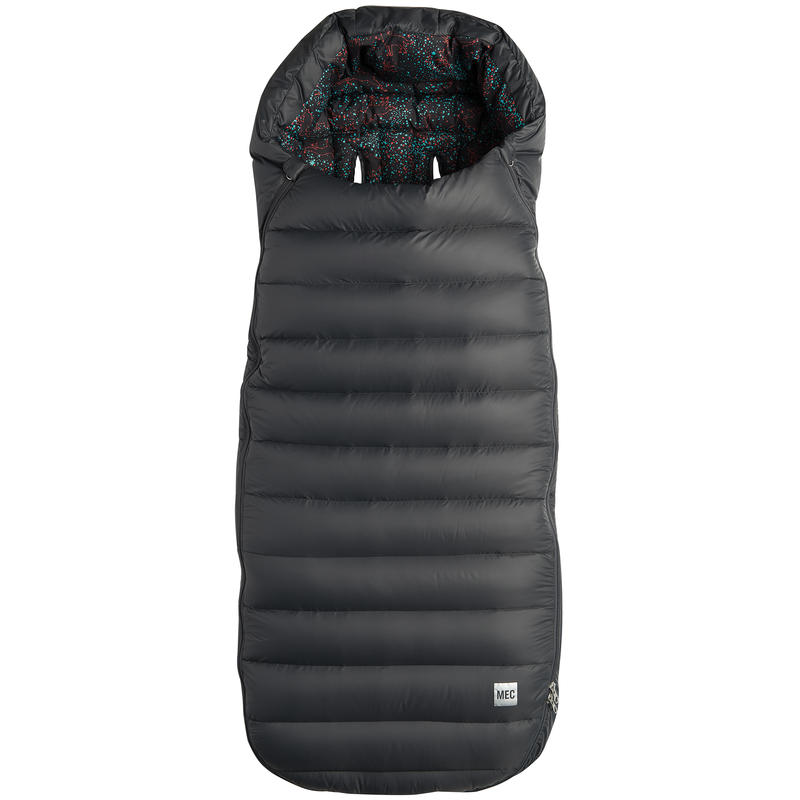 Ride Warm Stroller Bag (Down Filled) Coal