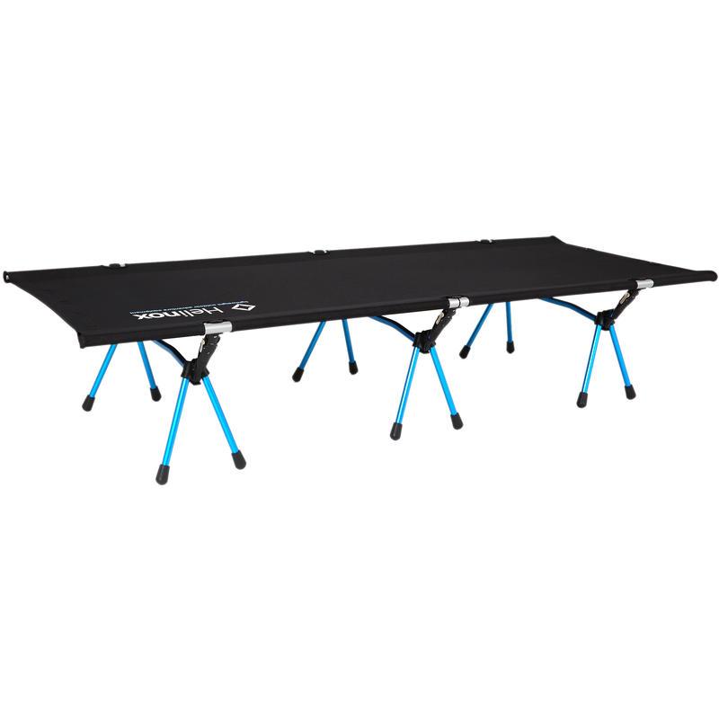 Lit de camp High Noir/Bleu