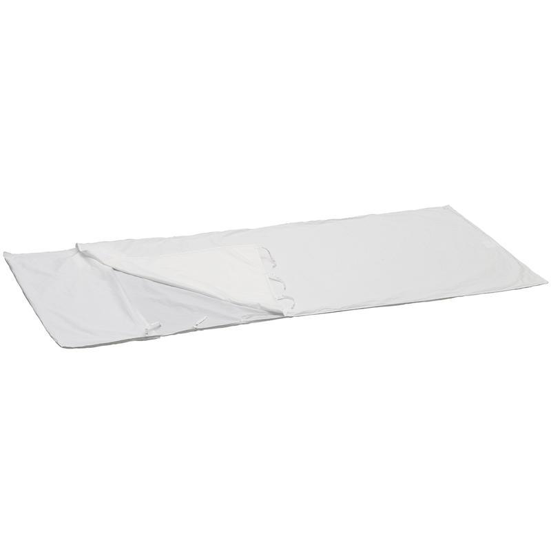 Doublure rectangulaire en coton biologique Blanc