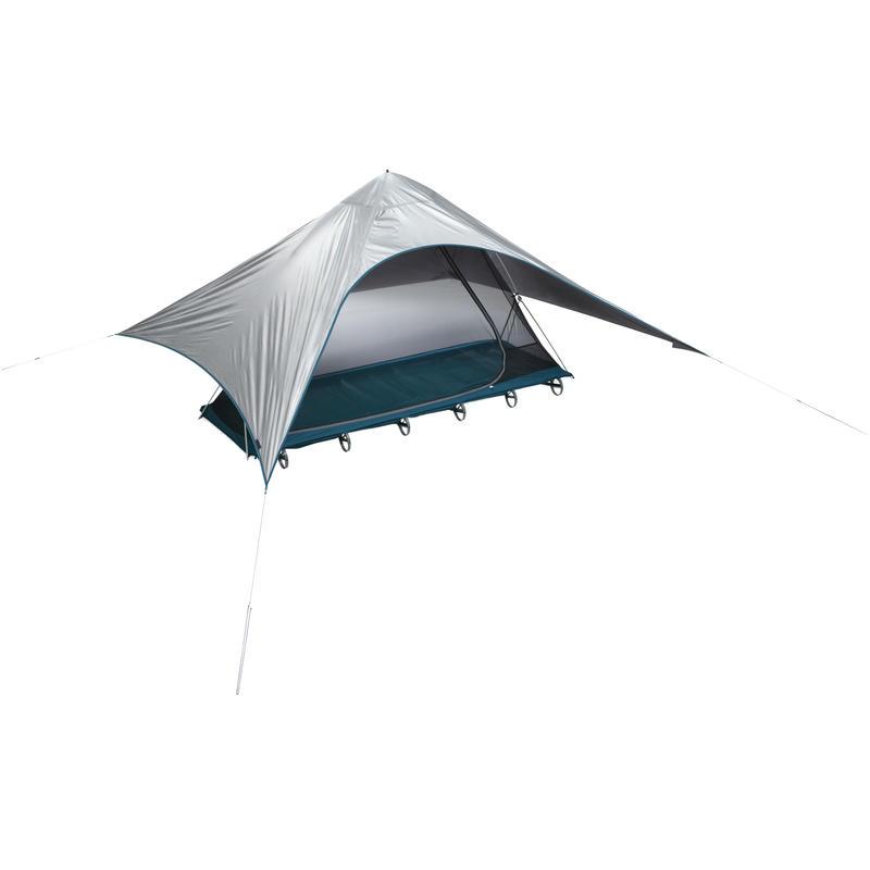 Pare-soleil pour le lit de camp LuxuryLite Argent