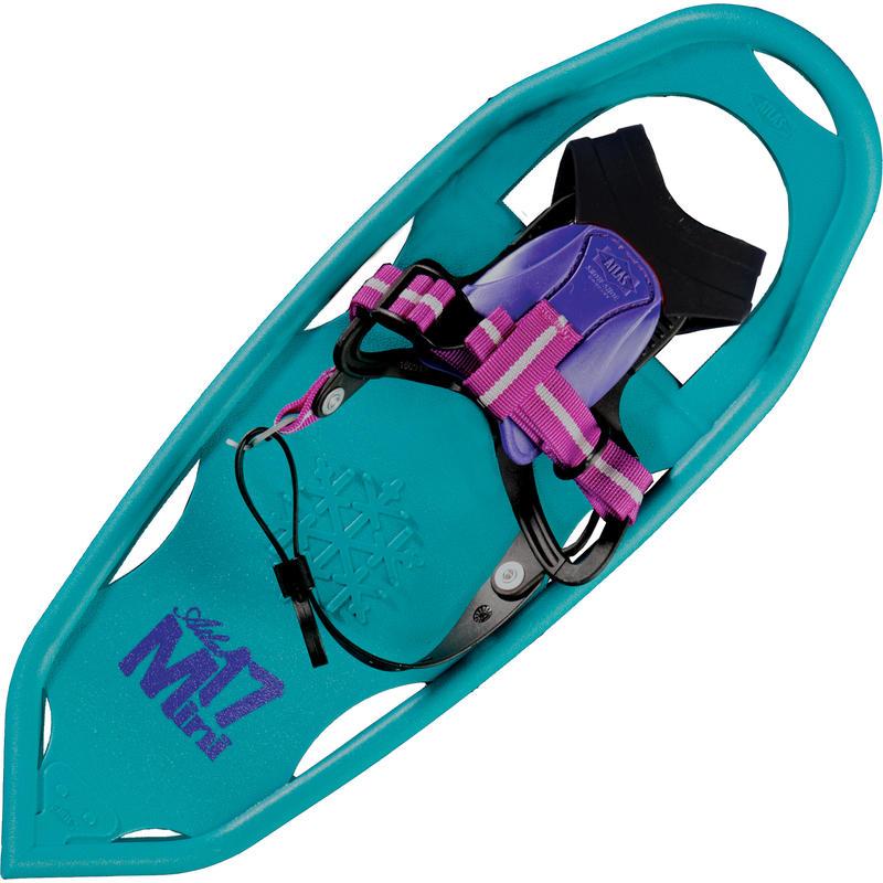 Raquettes Mini 17 Turquoise/Prune