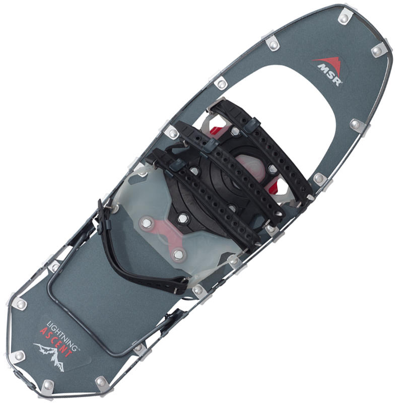 "Lightning Ascent 22"" Snowshoes Gunmetal"
